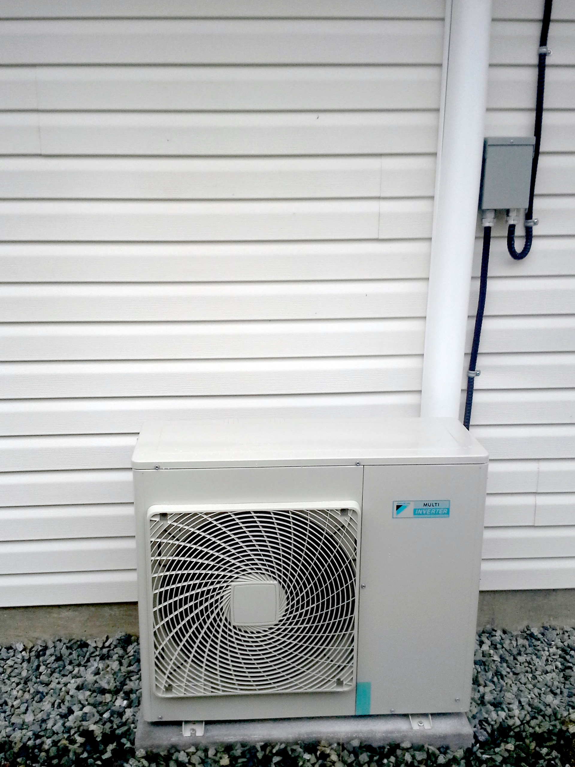 Ductless Split Installation